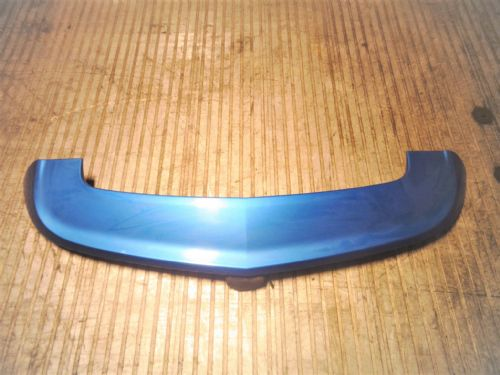 ASTRA MK5 VXR 3-DOOR GENUINE VXR BOOT SPOILER IN ARDEN BLUE